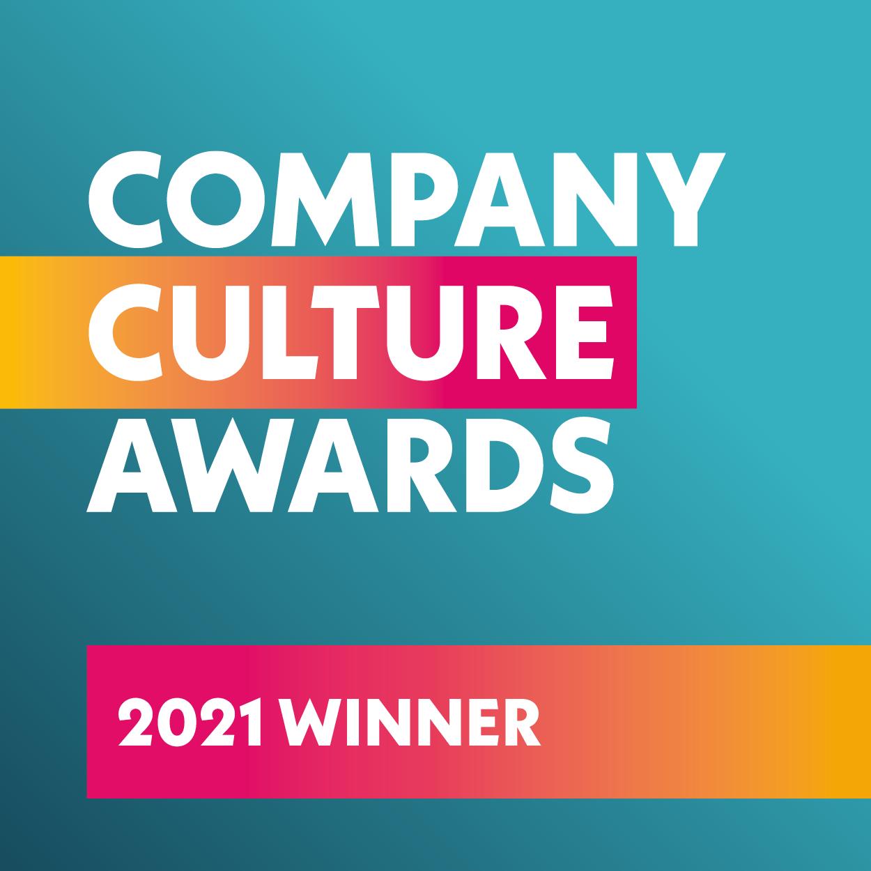 Company Culture Awards 2021 - Winner Badge